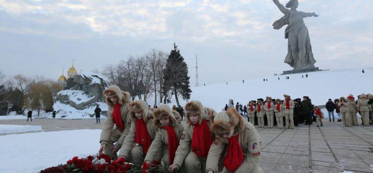 Наши юнармейцы в Волгограде