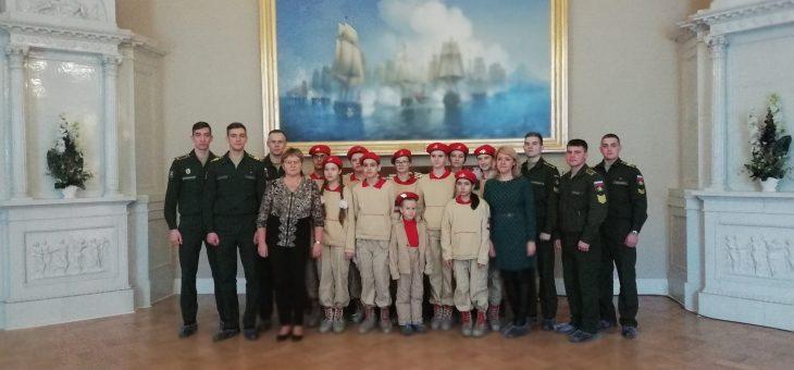 Экскурсия в филиал Центральной военно-морской библиотеки